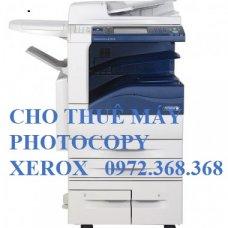 Cho thuê máy Photocopy Xerox