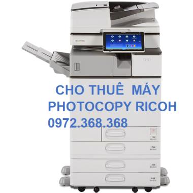 Cho thuê máy Photocopy Ricoh giá rẻ