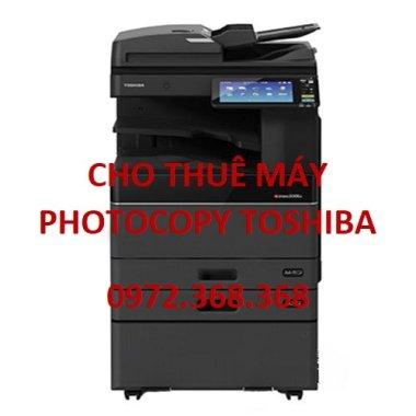Cho thuê máy Photocopy Toshiba giá rẻ