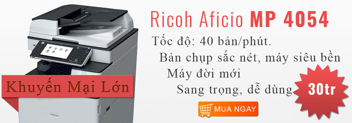 Máy Photocopy Kỹ thuật số Ricoh MP 4054SP